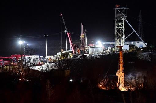 Sập mỏ vàng ở Trung Quốc: Có dấu hiệu sự sống từ 22 thợ mỏ