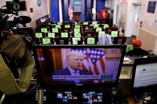 Tổng thống Donald Trump phát biểu chia tay Nhà Trắng, chấm dứt nhiệm kỳ 4 năm