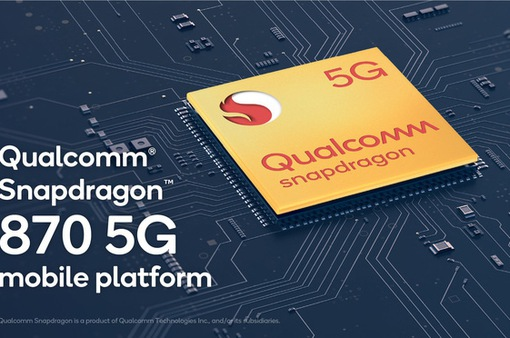 Qualcomm bất ngờ ra mắt chip di động cao cấp Snapdragon 870 5G