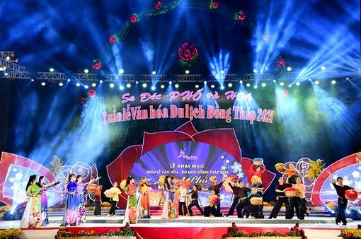 Khai mạc tuần lễ văn hóa du lịch Đồng Tháp