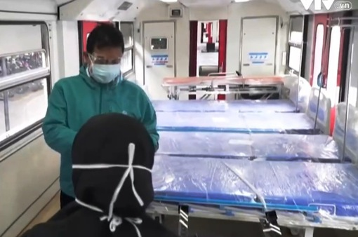 Indonesia biến các toa tàu thành bệnh viện đối phó COVID-19