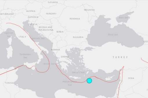 Động đất mạnh 6,4 độ làm rung chuyển Hy Lạp