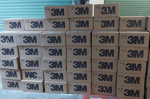 Phát hiện gần 10.000 khẩu trang nghi giả nhãn hiệu 3M