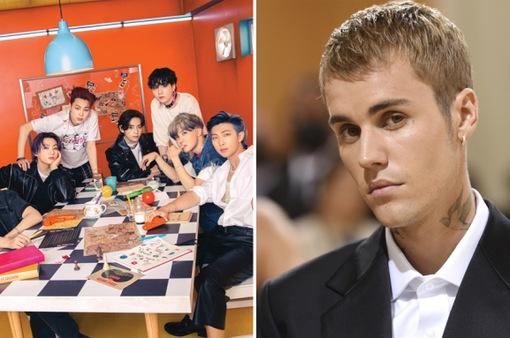 BTS và Justin Bieber dẫn đầu đề cử MTV EMAs 2021