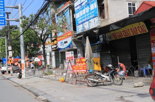 Thị trấn Phố Mới (Bắc Ninh) áp dụng các biện pháp phòng, chống dịch ở mức nguy cơ rất cao