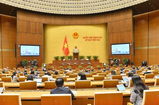 Ngày 25/10, Quốc hội thảo luận về sửa đổi Bộ luật Tố tụng hình sự, Luật Thống kê