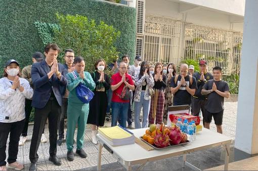 Phim mới của Nhan Phúc Vinh, Hà Việt Dũng khai máy