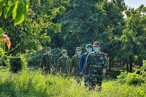 Lập 2 đoàn kiểm tra, siết chặt tuyến biên giới phía Nam phòng chống dịch COVID-19