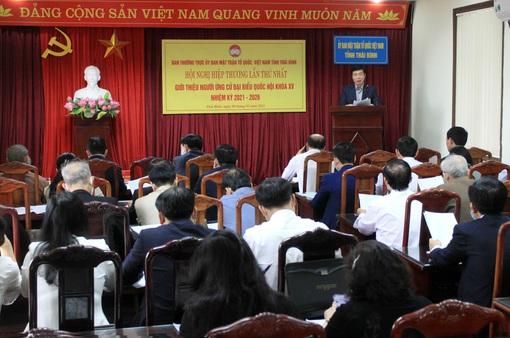 Hiệp thương lần thứ 1: 7.656 người được giới thiệu ứng cử Hội đồng nhân dân các cấp