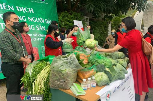 Giải cứu hơn 20 tấn nông sản tại điểm Đài THVN