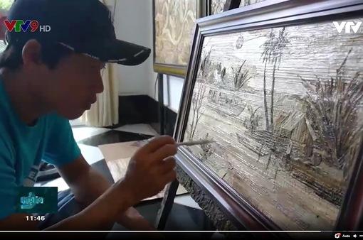 Nghệ thuật từ vỏ cây khô