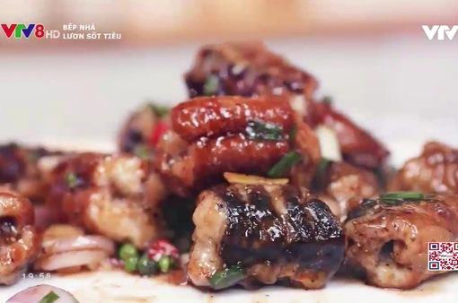 Cách làm món lươn xốt tiêu cho cả nhà dịp cuối tuần