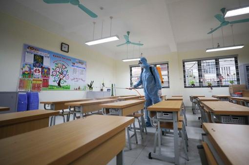 Trường học ở Hà Nội xây dựng kế hoạch, sẵn sàng đón học sinh tới trường