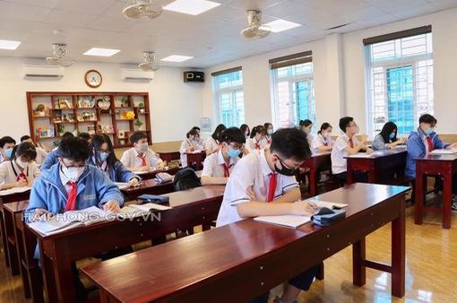 Học sinh Hải Phòng dự kiến trở lại trường học từ ngày 8/3