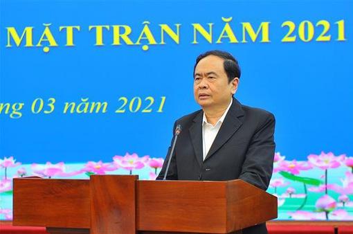 Ông Trần Thanh Mẫn và ông Hầu A Lềnh được giới thiệu ứng cử đại biểu Quốc hội khóa XV