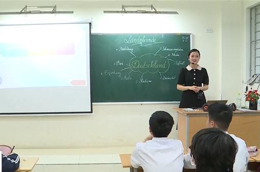 Nhiều học sinh phấn khởi khi tiếng Hàn, tiếng Đức trở thành môn ngoại ngữ 1