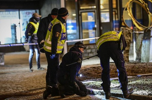 Tấn công bằng dao tại Thụy Điển làm 8 người bị thương