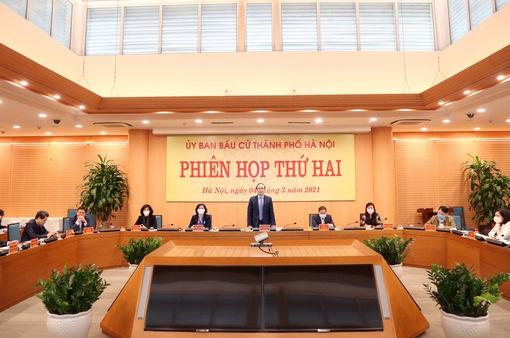 Hà Nội có 59 người ứng cử đại biểu Quốc hội, 190 người ứng cử đại biểu HĐND