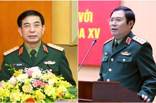 2 Thứ trưởng Bộ Quốc phòng được giới thiệu ứng cử đại biểu Quốc hội khóa XV