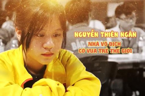 Gặp gỡ nhà vô địch cờ vua trẻ thế giới 14 tuổi Nguyễn Thiên Ngân