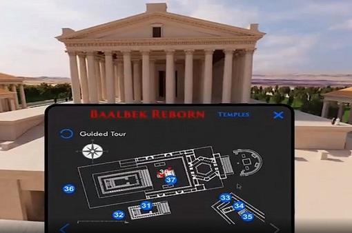 Trải nghiệm di sản kiến trúc Lebanon bằng thực tế ảo