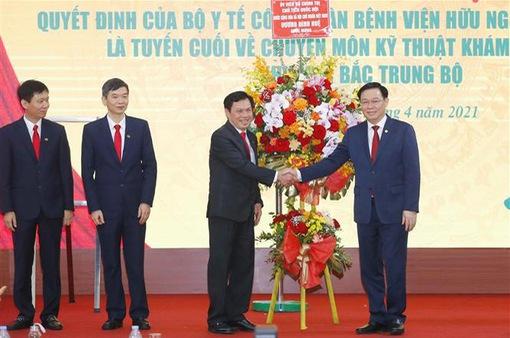 Bệnh viện hữu nghị đa khoa Nghệ An được công nhận là bệnh viện tuyến cuối