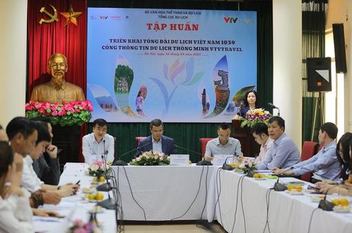 Tổng cục Du lịch tổ chức chương trình tập huấn nghiệp vụ triển khai Tổng đài du lịch Việt Nam 1039