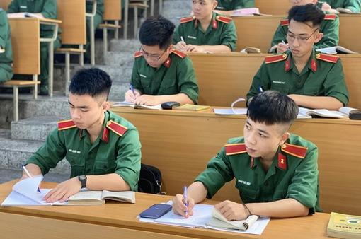 Thay đổi trong xét tuyển vào các ngành khối công an, quân đội