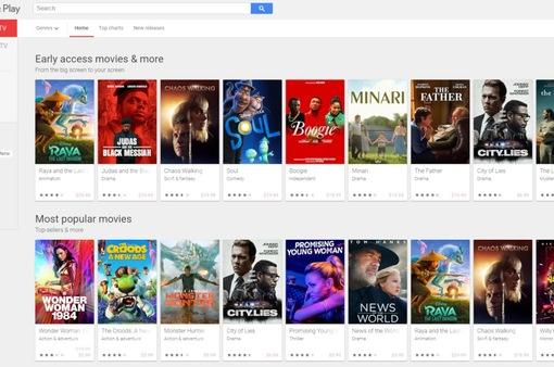Google khai tử dịch vụ Play Movies & TV trên các dòng TV thông minh