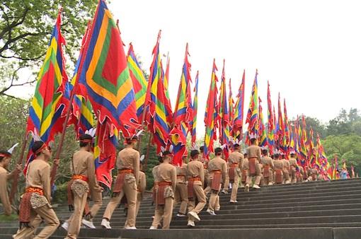Lễ Giỗ tổ Hùng Vương tại Đền Hùng, Phú Thọ