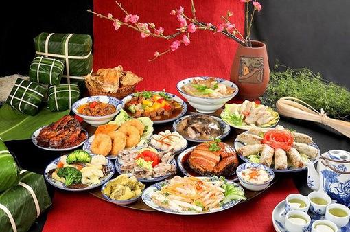 Mâm cơm tri ân ngày Giỗ Tổ Hùng Vương - Nét đẹp văn hóa của người dân Phú Thọ