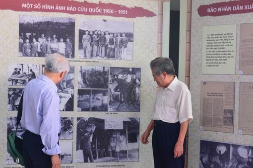 Trưng bày chuyên đề và toạ đàm Báo chí Việt Nam 1946-1954: Từ Hà Nội đến chiến khu Việt Bắc