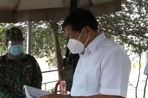 Ban chỉ đạo quốc gia kiểm tra phòng chống dịch COVID-19 tại biên giới Tây Nam