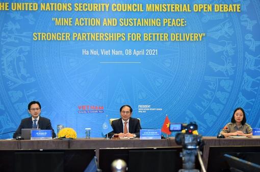 Bộ trưởng Bùi Thanh Sơn: Chưa có hòa bình bền vững chừng nào vết thương của chiến tranh chưa được chữa lành
