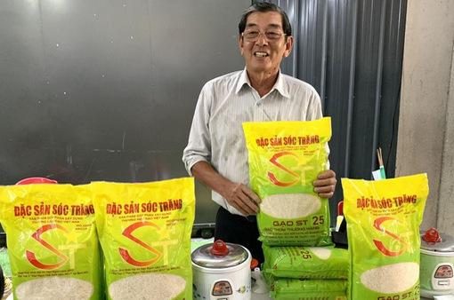 """Gạo ST25 được đăng ký tại Mỹ với nhãn hiệu """"Gạo Ông Cua"""""""
