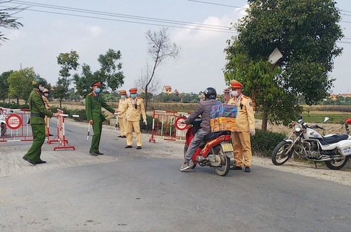 Điện Biên: Phong tỏa tạm thời khu vực sinh sống của trường hợp dương tính với SARS-CoV-2