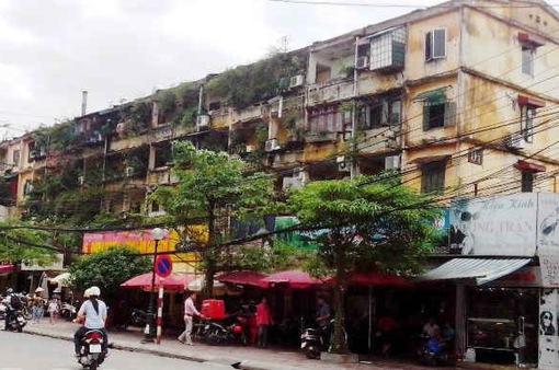 """Cải tạo chung cư cũ Hà Nội: """"Đặc sản"""" khó... nhằn"""