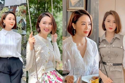 Hướng dương ngược nắng: Ngắm loạt set đồ mới đủ phong cách của Châu (Hồng Diễm) trong phần 2