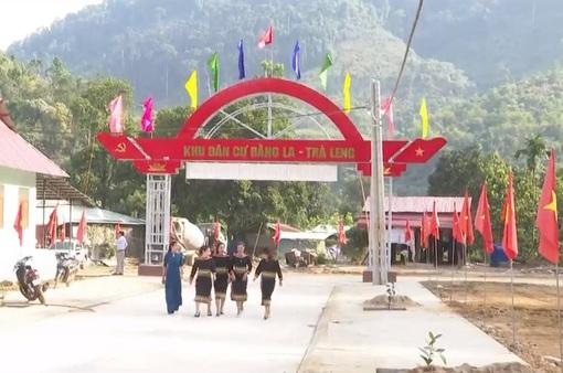 Sự hồi sinh mạnh mẽ tại ngôi làng mới ở Trà Leng