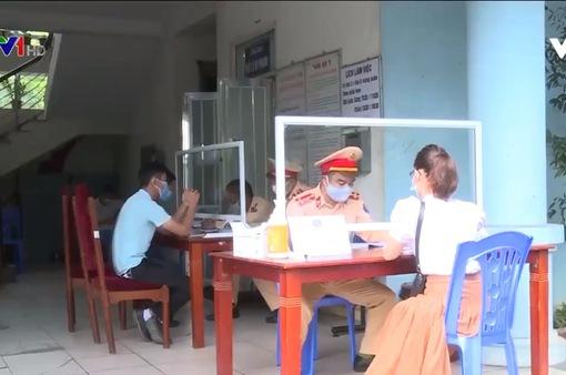 Phòng chống dịch tại các điểm xử phạt giao thông