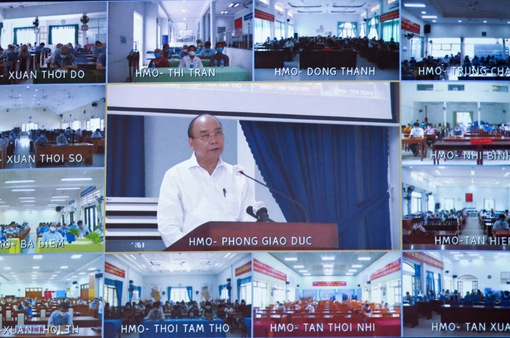 Chủ tịch nước khẳng định thúc đẩy giải quyết bức xúc trong hơn 10 năm về quy hoạch khu đô thị Tây Bắc Củ Chi
