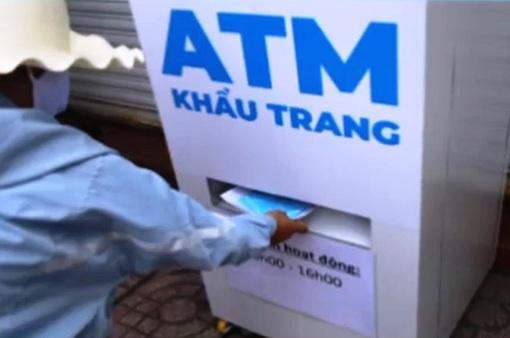 Máy ATM khẩu trang tại Hưng Yên