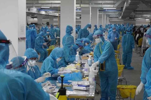 Bắc Giang xây dựng phương án hỗ trợ công nhân trong vùng dịch