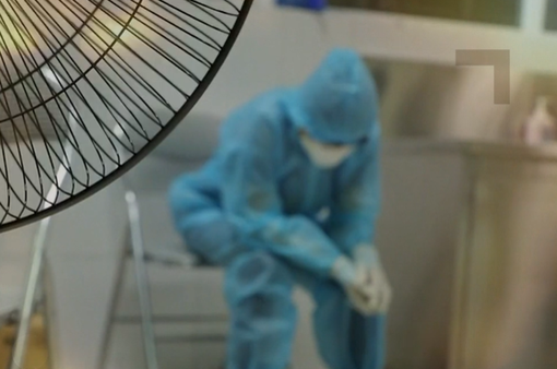 Những 'nốt lặng' trong cuộc chiến chống COVID-19 ở Bệnh viện Bệnh Nhiệt đới Trung ương
