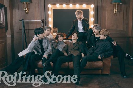 BTS - nhóm nghệ sĩ châu Á đầu tiên lên bìa của Rolling Stone