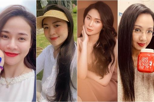 """Dàn MC, BTV mê tóc dài: Thụy Vân biến hóa, Hoài Anh cuốn hút, Thu Hương lại """"than"""" dày"""