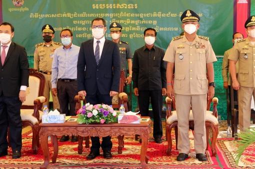 Khánh thành cửa khẩu quốc tế Tân Nam - Meun Chey
