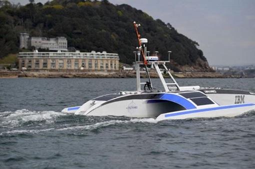 Tàu biển tự hành bằng trí tuệ nhân chuẩn bị chuyến thám hiểm đầu tiên