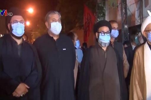 Hàng nghìn người tham dự nghi lễ tôn giáo ở Pakistan