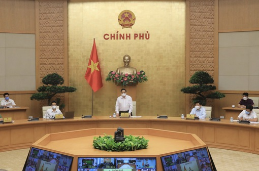 Thủ tướng Phạm Minh Chính: Phải nêu cao trách nhiệm người đứng đầu trong phòng chống COVID-19